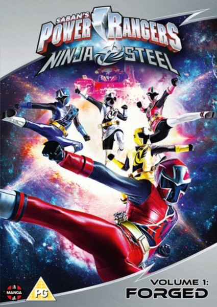Power Rangers Ninja Steel: Forged (Volume 1) Episodes 1-4 [DVD]
