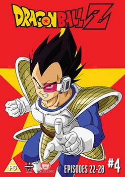 Dragon Ball Z Season 1 Part 4 Episodes 22-28 (DVD)