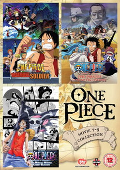 One Piece: Movie Collection 3 (DVD)