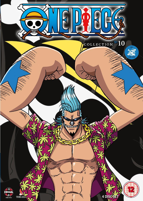 One Piece (Uncut) Collection 10 (Episodes 230-252) (DVD)