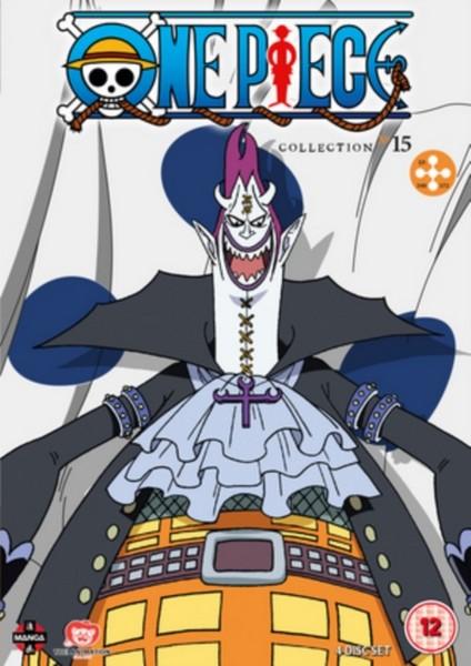 One Piece (Uncut) Collection 15 (Episodes 349-372) (DVD)