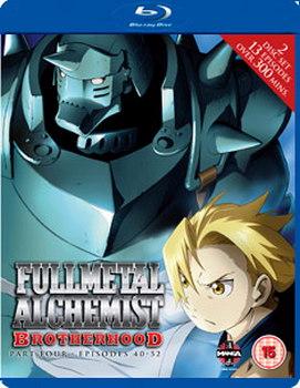 Fullmetal Alchemist Brotherhood Four (Episodes 40-52) (Blu-ray)