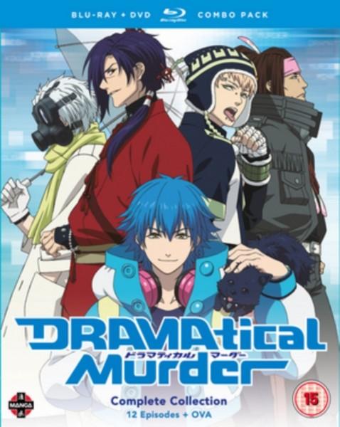 DRAMAtical Murder Complete Season Blu-ray/DVD Combo