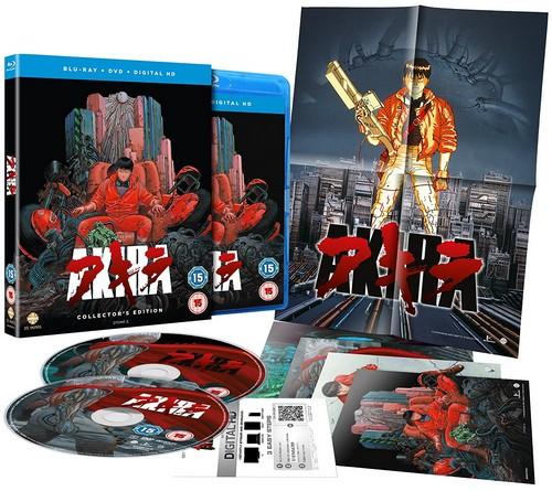 Akira: The Collectors Edition - Triple Play Edition (incl. Blu-ray  DVD  Digital Copy) (Blu-ray)