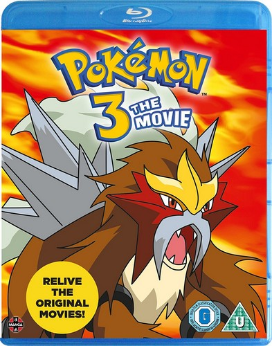 Pokemon 3: The Movie [Blu-ray]