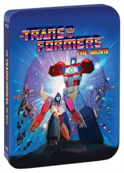 The Transformers: The Movie - Limited Edition  30th Anniversary Steelbook (2-Blu-ray set + Digital Copy) (Blu-ray)