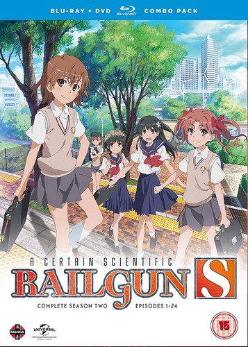 A Certain Scientific Railgun Complete Season 2 Collection (Episodes 1-24) Blu-ray/DVD Combo (Blu-ray)
