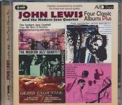 John Lewis & The Modern Jazz Quartet - Four Classic Albums Plus (The Modern Jazz Sextet/No Sun In Venice/Grand Encounter/At The Opera House/A Concert (Music CD)