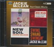 Jackie McLean - Fat Jazz/Jackies Bag/New Soil/Swing Swang Swingin (Music CD)