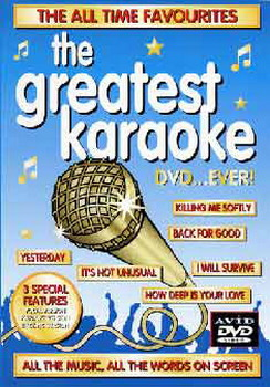 The Greatest Karaoke Dvd