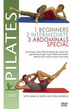 Pilates - Collection Vols 1  2 & 3 (DVD)