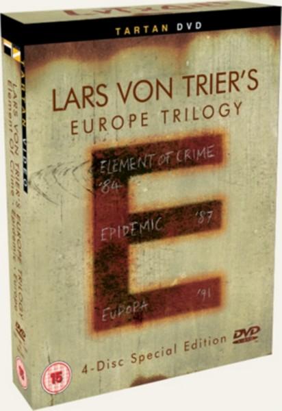 Lars Von Triers E-Trilogy - Element Of Crime / Epidemic / Europa (Subtitled) (Four Discs) (DVD)