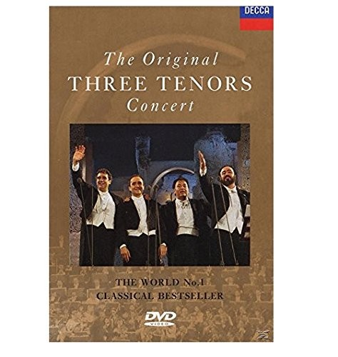 The Three Tenors: The Original Three Tenors Concert (Music DVD)