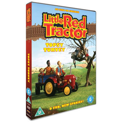 Little Red Tractor Topsy Turvy (DVD)