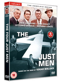 The Four Just Men - The Complete Series (DVD)