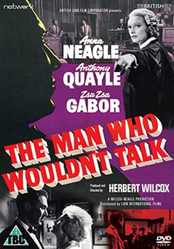 The Man Who Wouldn'T Talk (1958) (DVD)