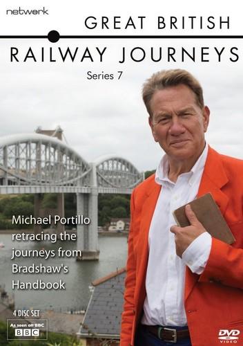 Great British Railways Journeys: The Complete Series 7 (DVD)