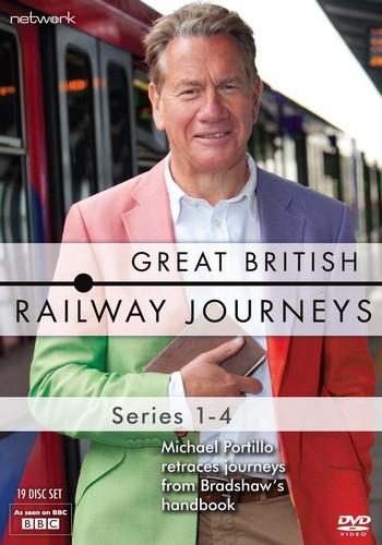 Great British Railway Journeys: Series 1-4 (DVD)