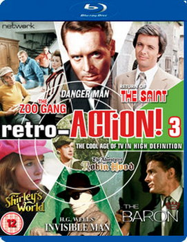 Retro-ACTION! Volume Three - ITV (Blu-ray)