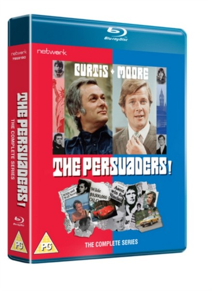The Persuaders!: The Complete Series [BLU RAY + DVD] (Blu-ray)