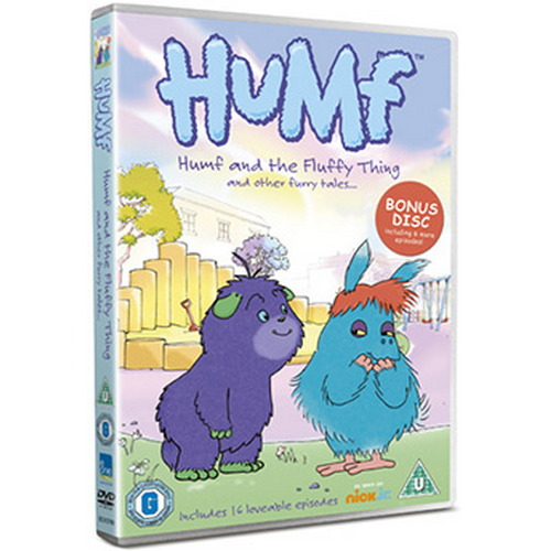 Humf Vol 3 - Humf And The Fluffy Thing (DVD)