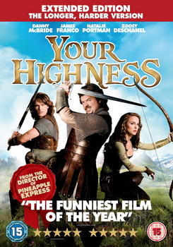Your Highness - Extended Edition (The Longer  Harder Version) (DVD)