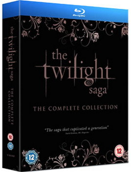The Twilight Saga: The Complete Collection (Blu-Ray)