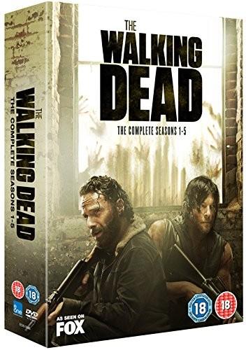 The Walking Dead Seasons 1-5 Boxset (DVD)