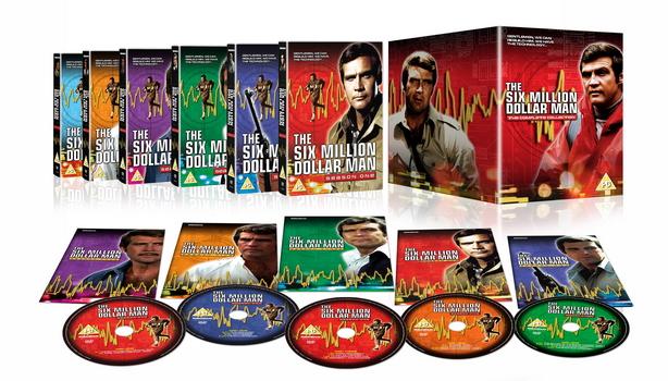 The Six Million Dollar Man Complete Series (DVD)