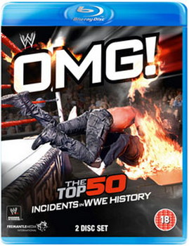 WWE: OMG! The Top 50 Incidents In WWE History (Blu-ray)