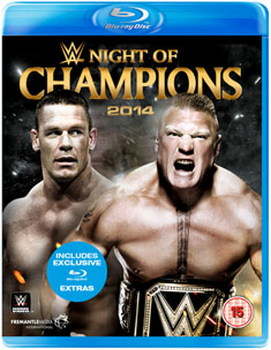 WWE: Night Of Champions 2014 (Blu-ray)