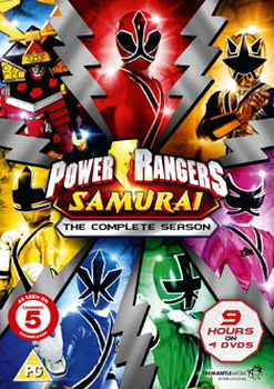Power Rangers Samurai - The Complete Collection (DVD)
