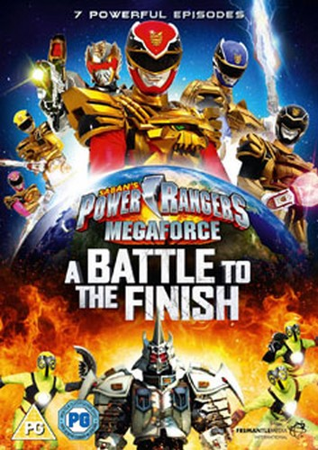 Power Rangers - Megaforce: Volume 3 - A Battle To The Finish (DVD)
