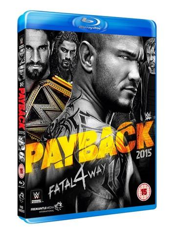 WWE: Payback 2015 (Blu-ray)