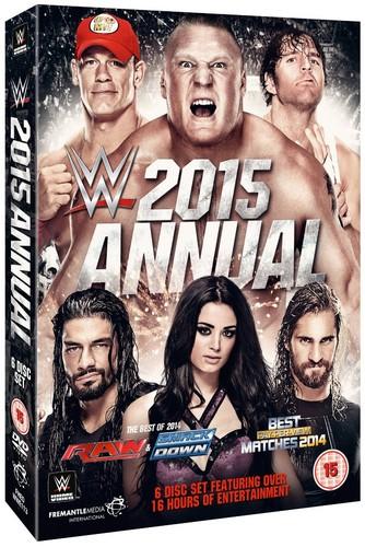 Wwe: 2015 Annual (DVD)