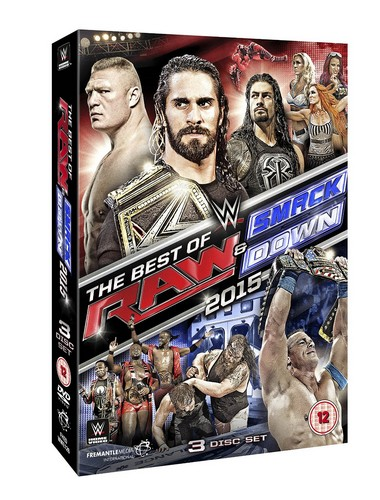 Wwe: The Best Of Raw And Smackdown 2015 (DVD)