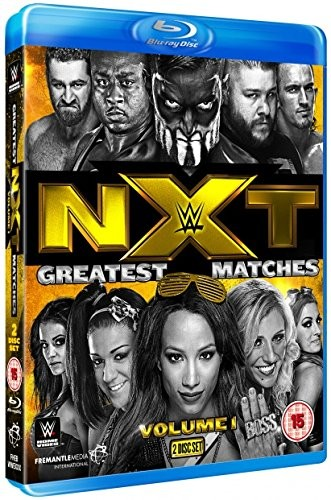 WWE: NXT Greatest Matches Vol.1 [Blu-ray]