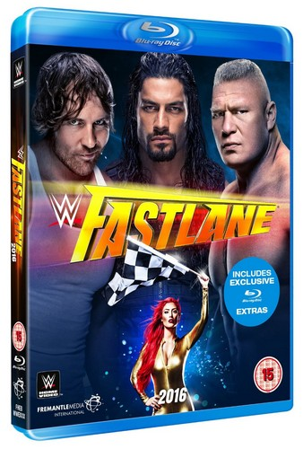 WWE: Fastlane 2016 [Blu-ray]