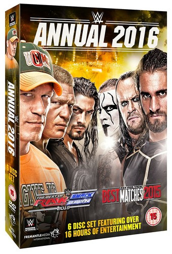 WWE: 2016 Annual (DVD)