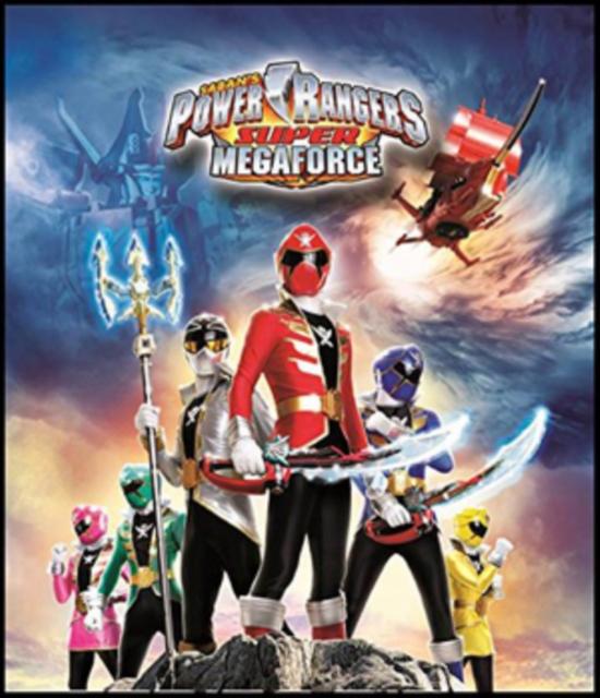 Power Rangers Super Megaforce - Volume 3: Legendary Battle (DVD)
