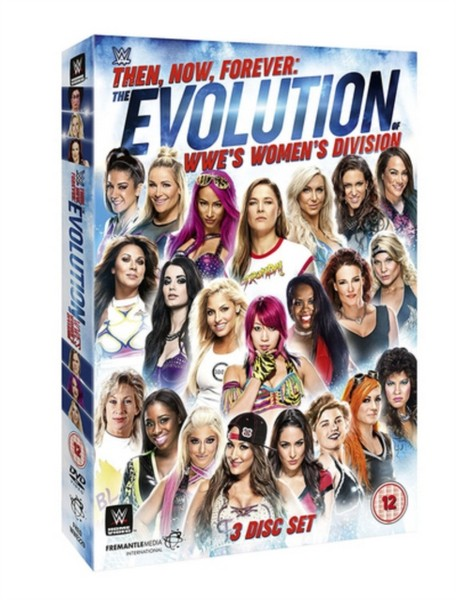 WWE: Then  Now  Forever - The Evolution Of WWE's Women's Division [DVD]