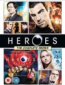 Heroes: The Complete Series (inc. Heroes Reborn) (DVD)