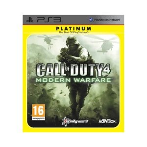 Call of Duty 4 - Modern Warfare - Platinum (PS3)