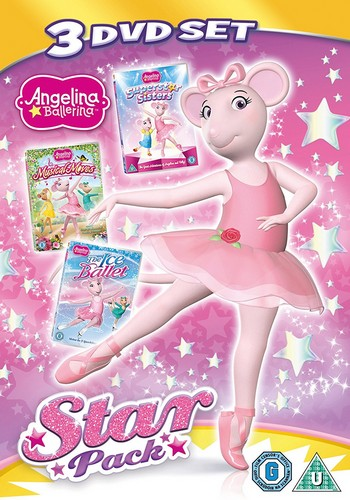 Angelina Ballerina - Star Pack