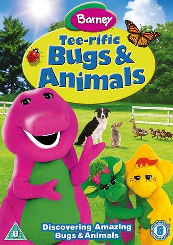 Barney Tee-Rific Bugs & Animals Dvd (DVD)