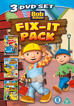 Bob The Builder - Fix It Pack - Here To Help / Seaside Adventures / Can We Fix It (DVD)