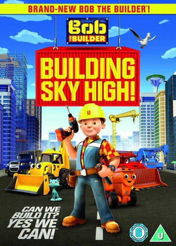Bob The Builder Building Sky High (DVD)