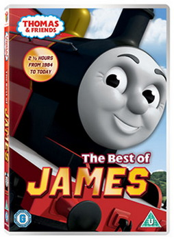 Thomas & Friends - The Best Of James (DVD)