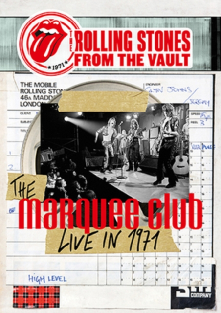 The Rolling Stones - From The Vault: The Marquee Live In 1971 (Dvd) (DVD)