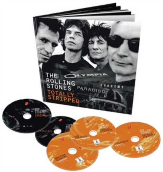 The Rolling Stones: Totally Stripped [4Xdvd+Cd] [Ntsc] (DVD)